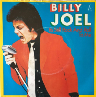 "Billy Joel ‎- It's Still Rock And Roll To Me (7"") (VG/G++)"